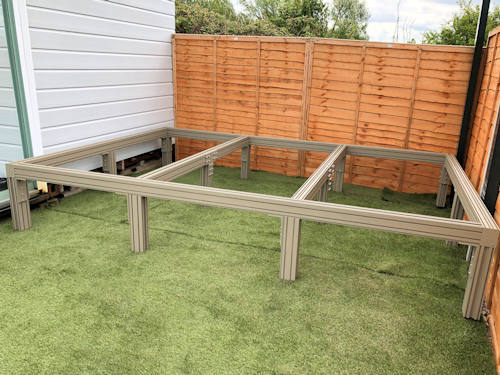 Aluminium Decking Support - Ali-Deck Supa Joist