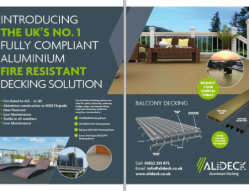 Ali-Deck Features in Building Products Magazine