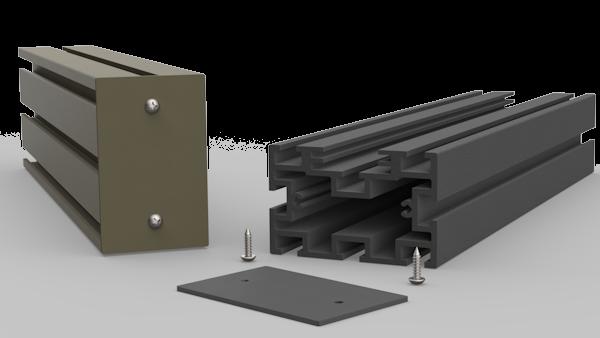 Aluminium Decking Support - Ali-Deck Low Joist