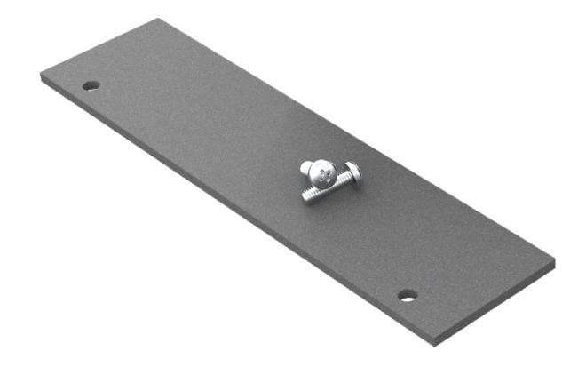 Aluminium Decking Starter Profile