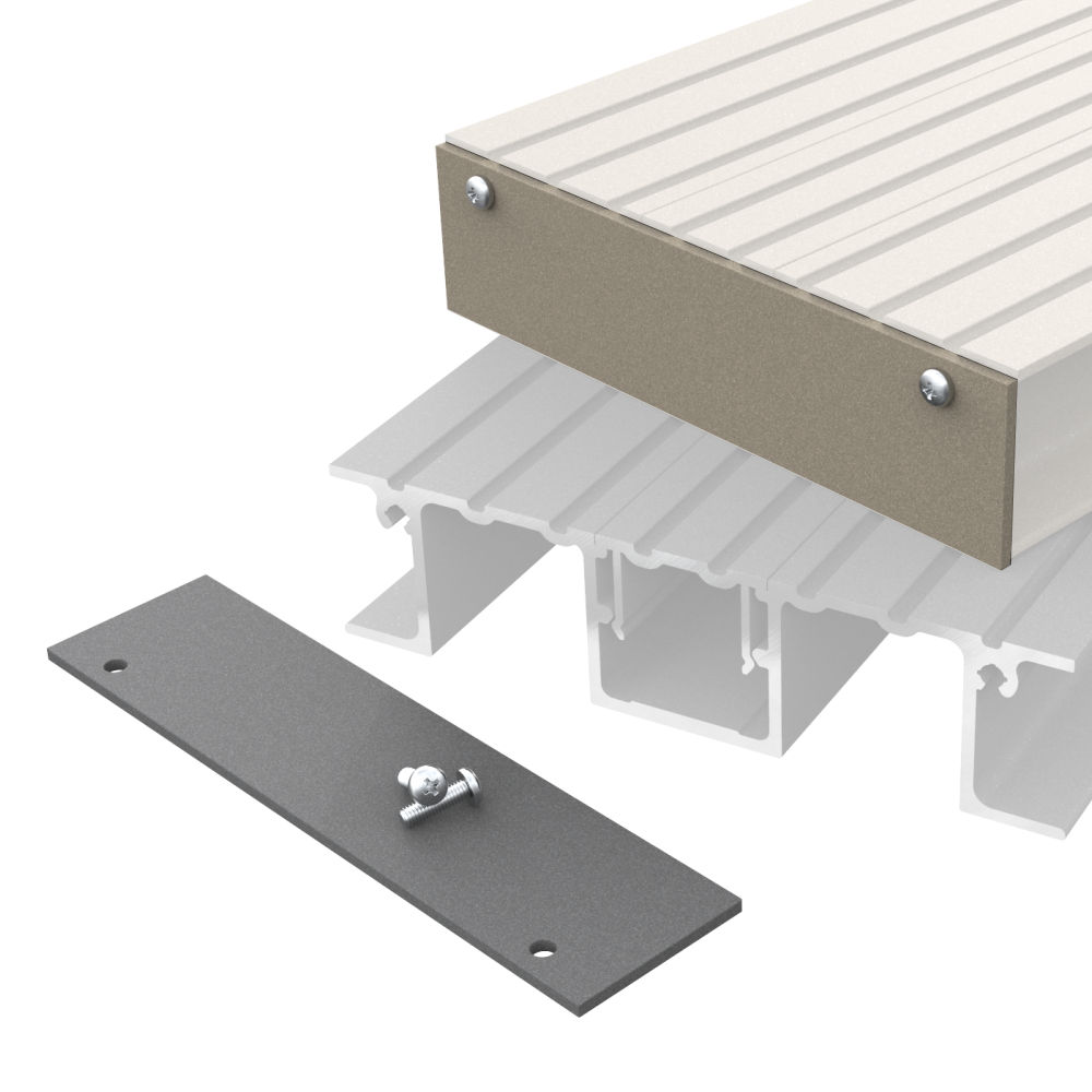 Aluminium Decking End Plates