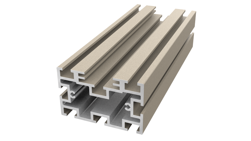 Aluminium Decking Support - Ali-Deck Low Joist
