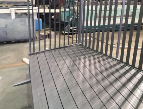 Balcony Decking Sample for JSM Engineering