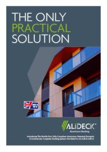 Alideck Brochure - View online or request a copy in the post