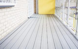 AliDeck Aluminium Decking Boards Installed In East London Development