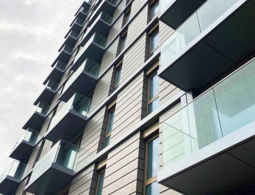 Aluminium Balcony Decking, Manchester: Dearneside Fabrications