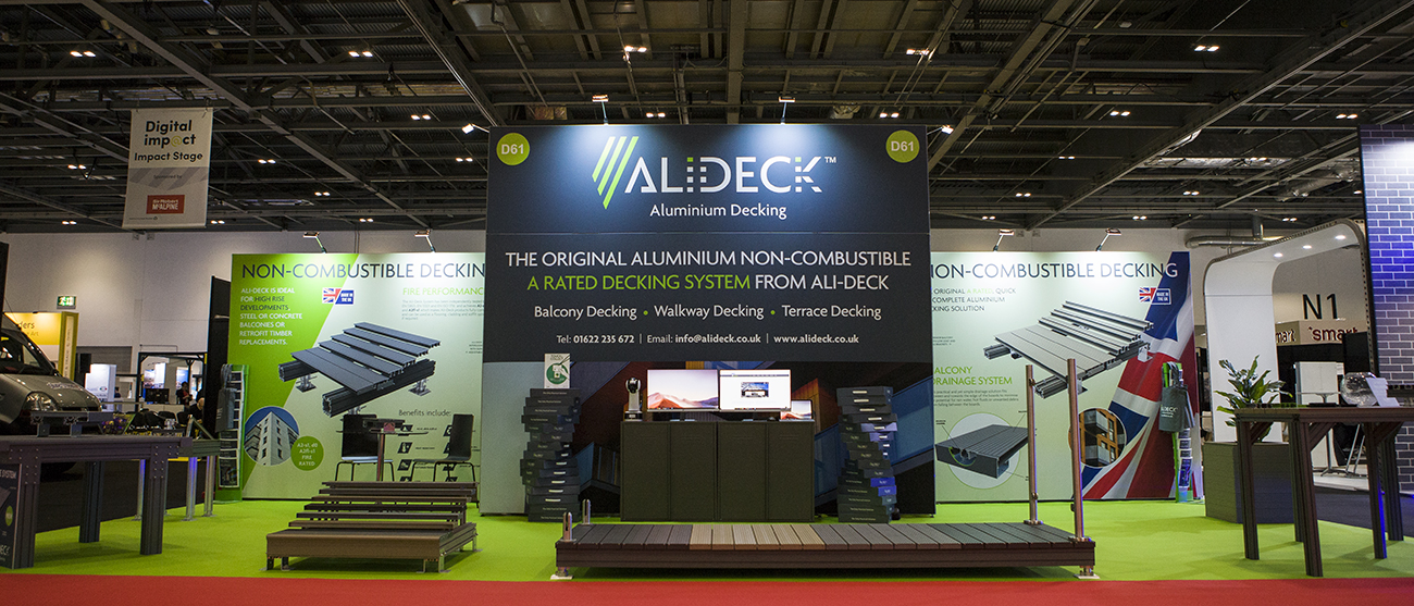 AliDeck are the premiere supplier of non-combustible aluminium metal decking systems