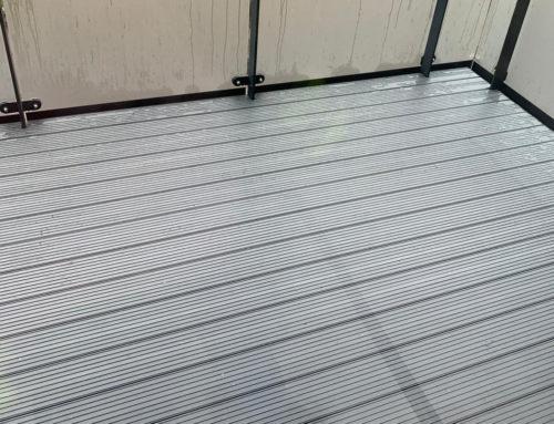 Aluminium Balcony Decking, Edgware: Rydon Construction
