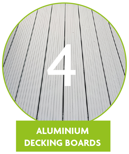 Comparison of other materials vs Aluminium Metal Decking