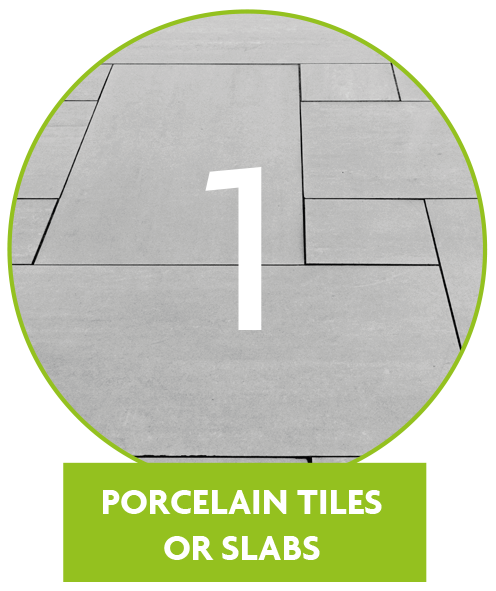 Porcelain vs Aluminium Metal Decking