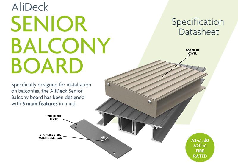 AliDeck Aluminium Metal Decking Balcony Board Datasheet Thumb