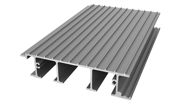 AliDeck aluminium metal decking A-Rated Standard Interlocking Board