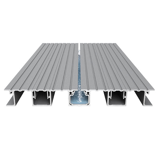 AliDeck Non-combustible Aluminium Metal Decking Senior Balcony Board With Drainage Channel