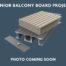 Project for Aluminium Balcony Decking using AliDeck Senior Board