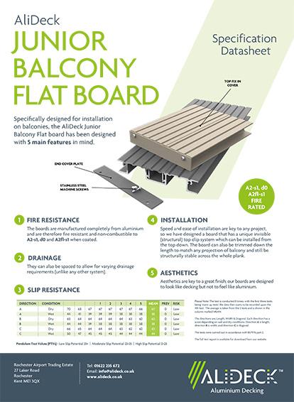 Junior Flat Balcony Board