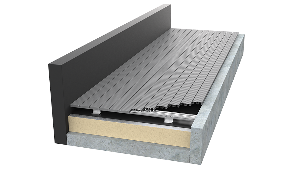 AliDeck Non-Combustible Aluminium Metal Decking Design Service For Contractors and Developers