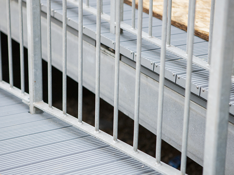 AliDeck Non-Combustible Aluminium Metal Decking Is Ideal For Use In Balcony, terrace and Walkway Projects