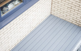 AliDeck Non-Combustible Aluminium Metal Decking Used In Balcony Project