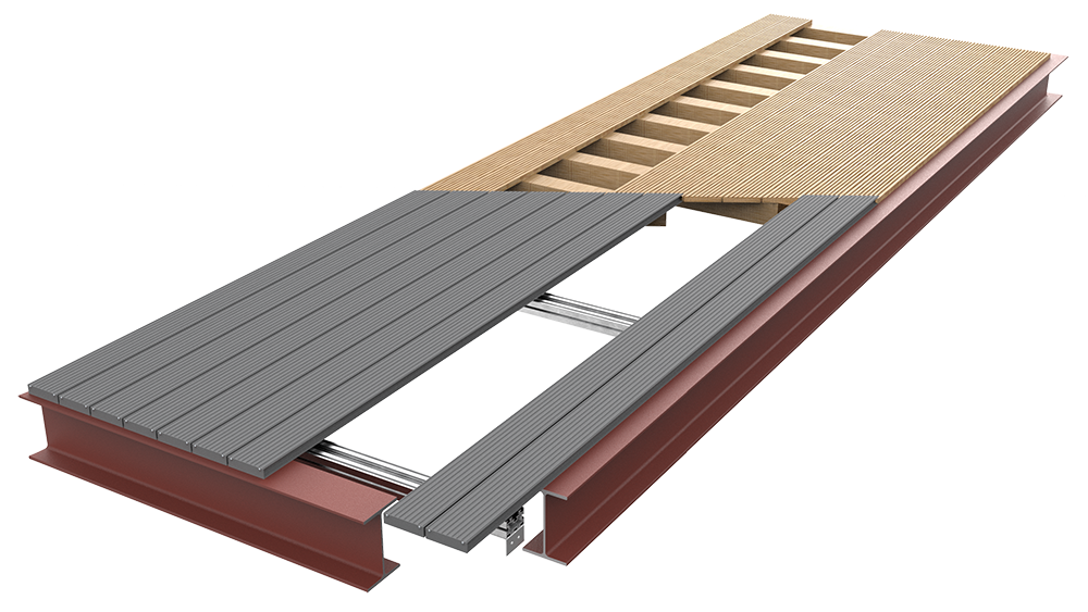 AliDeck Non-Combustible Aluminium Metal Decking Is The Ideal Timber Replacement Solution