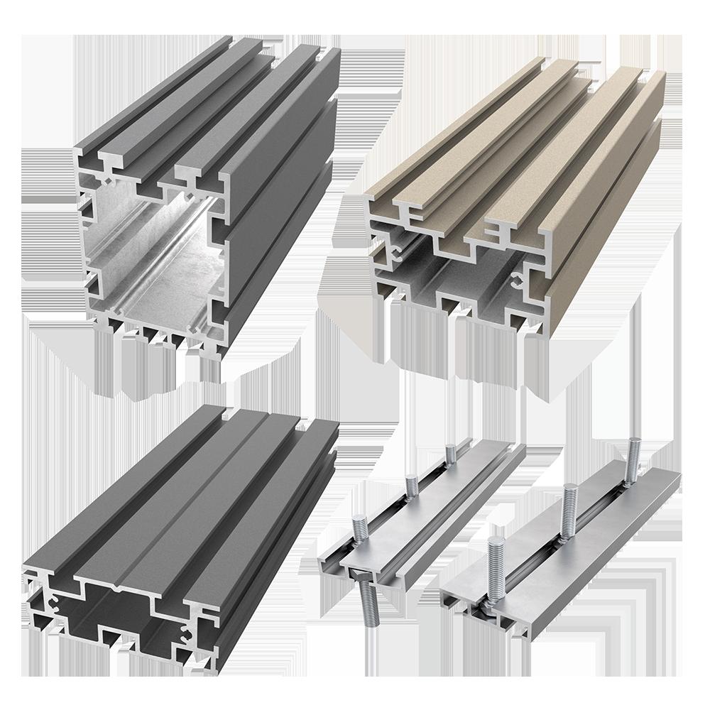 AliDeck Non-Combustible Aluminium Metal Decking Joist Range