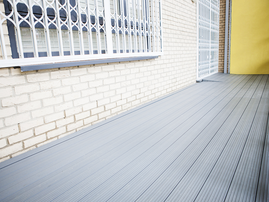 AliDeck Non-Combustible Aluminium Metal Decking Specified For balcony Project