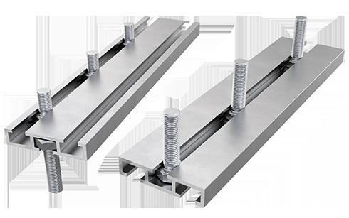 AliDeck non-combustible aluminium metal decking Triple Bolt Channel