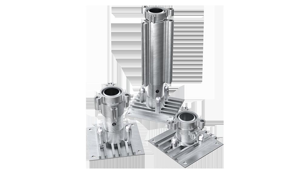 AliDeck Non-combustible Multi-Directional Adjustable Pedestal for aluminium decking