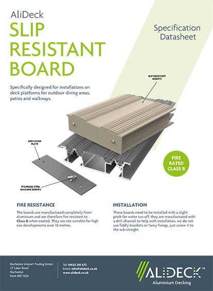 Slip Resistant Balcony Board