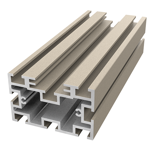 AliDeck non-combustible aluminium metal decking Low Joist for balcony, terrace and walkway projects