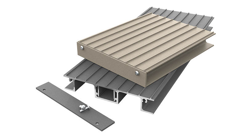 AliDeck Non-Combustible Aluminium Metal Balcony Decking