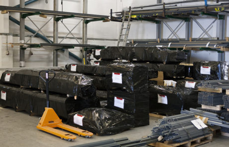 AliDeck Non-Combustible Aluminium Metal Decking Bespoke Order Delivery