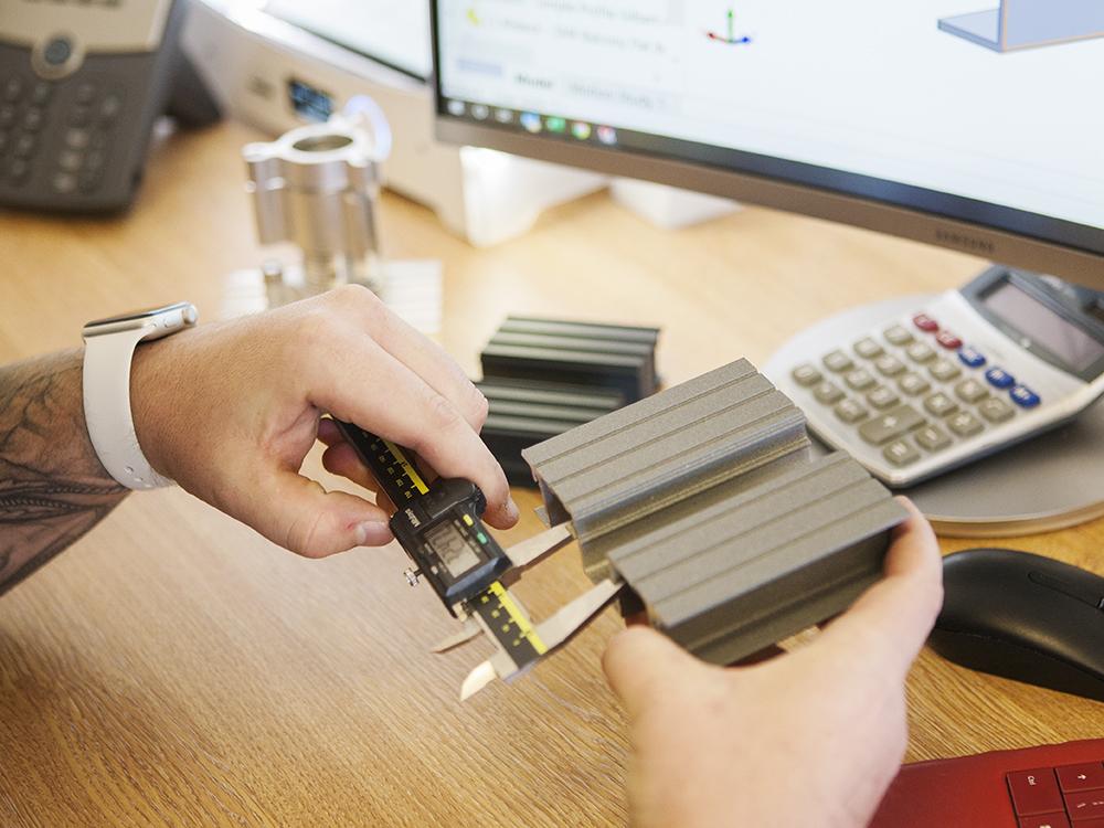 AliDeck Non-Combustible Aluminium Metal Decking R&D 3D Printer