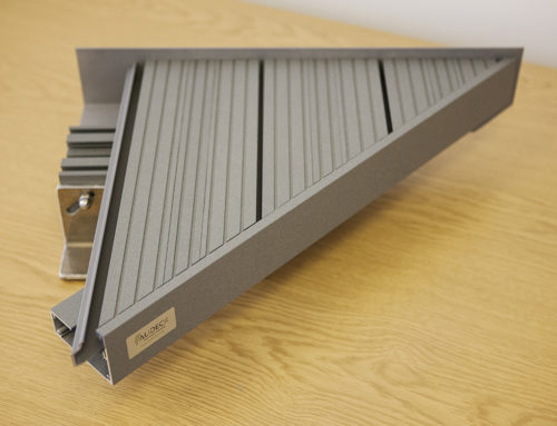 AliDeck aluminium decking system has the flexibility to cope with all balcony situations