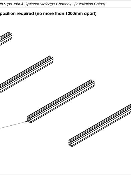 AliDeck Non-Combustible Aluminium Metal Decking Senior Balcony Board Install Guide