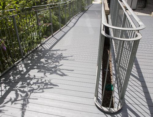 Aluminium Decking, East London: Walkway Decking Installation