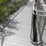 AliDeck Non-Combustible Aluminium Metal Decking Walkway Instillation