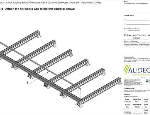 Aluminium Balcony Board Installation Guides Now Available