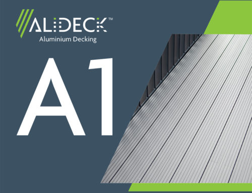 AliDeck Non-Combustible Aluminium Decking Now Rated A1 For Fire Safety