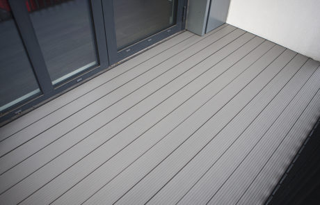AliDeck Non-Combustible Aluminium Metal Decking Installation in Woolwich, London