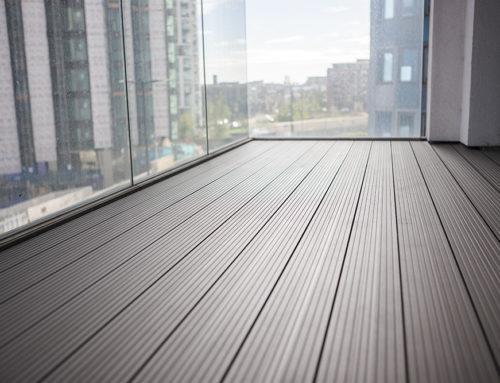 Aluminium Decking, Woolwich, London: Balcony Installation