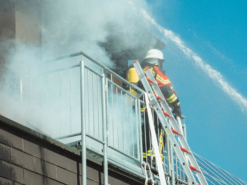 AliDeck Non-Combustible Aluminium Decking Stoptober Balcony Fires