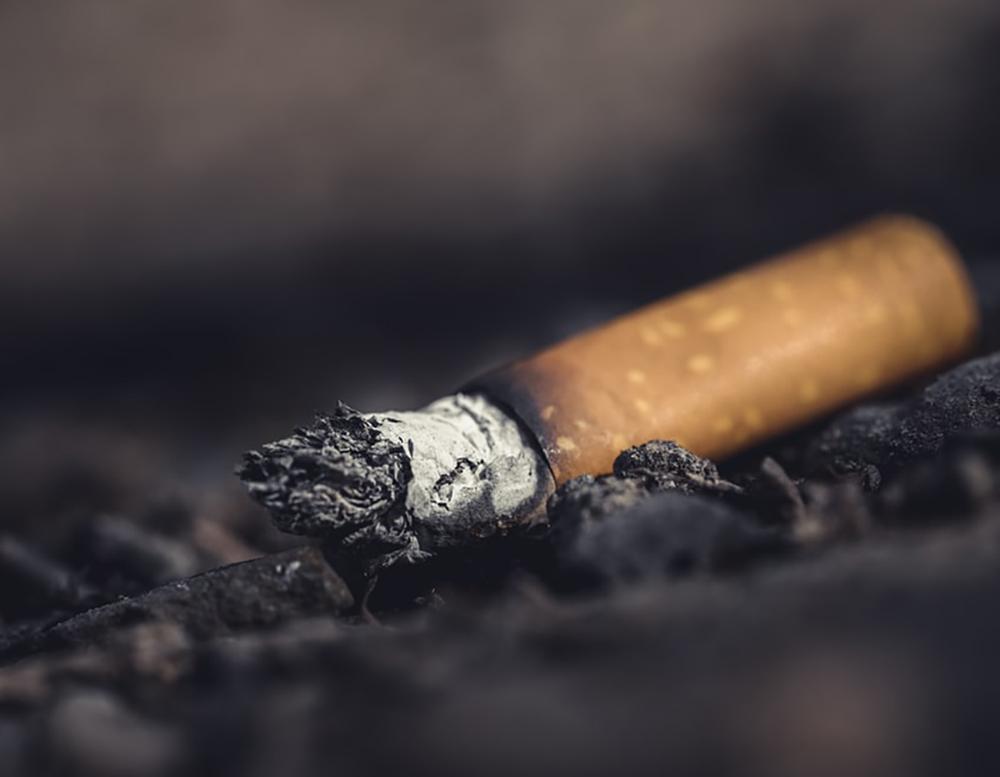 StopTober Campaign Cigarette