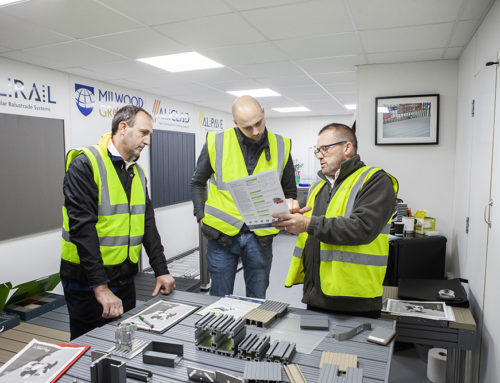 Two new trainees attend the AliDeck Training Academy