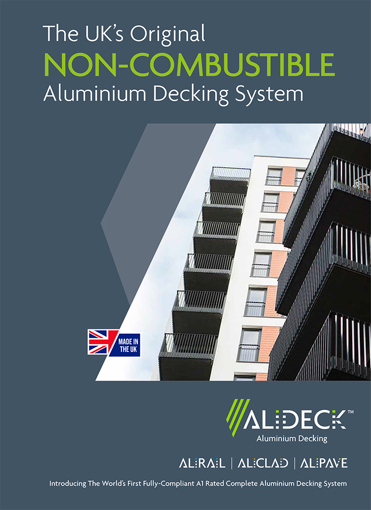 The New AliDeck Aluminium Decking Brochure