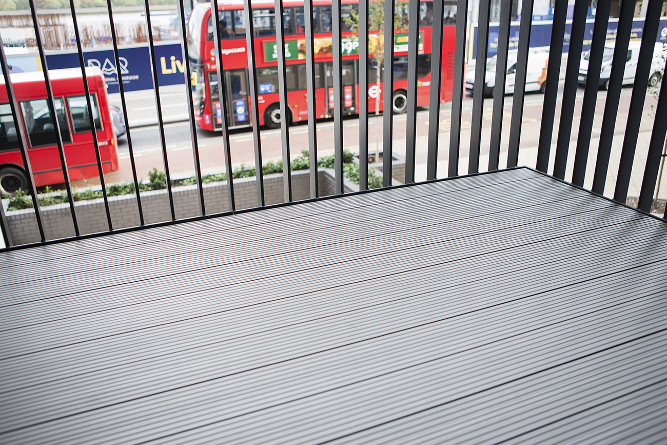 AliDeck Aluminium Non-Combustible Metal Decking Balcony Fire Safety