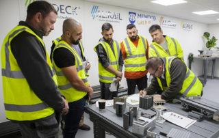 AliDeck Non CombustibleAluminium Decking Training Academy New Venue