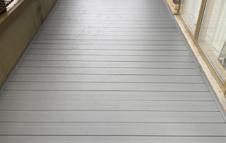 AliDeck Non-Combustible Aluminium Decking Installation in Lewisham to Replace Timber Decking
