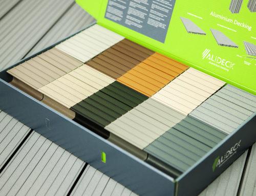 AliDeck Aluminium Decking Standard Colours Samples Available