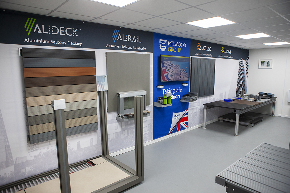 AliDeck Non CombustibleAluminium Decking Training Academy New Venue