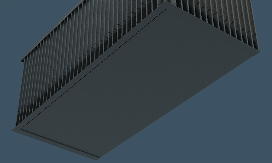 AliClad Balcony Soffit Cladding from Aluminium Decking Manufacturer AliDeck